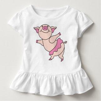 Ballet Pig Toddler T-Shirt