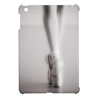 Ballet Pointe Shoes Sepia Dancing Slippers Case For The iPad Mini
