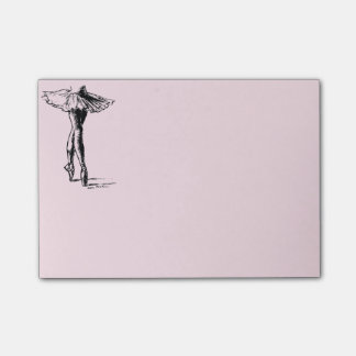 Ballet Post-it Notes