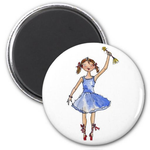 Ballet Princess Fridge Magnet