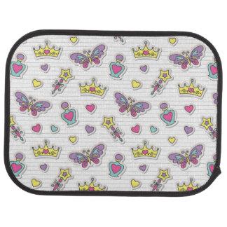 ballet princess pattern car mat