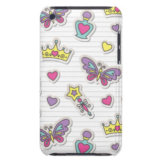 ballet princess pattern Case-Mate iPod touch case