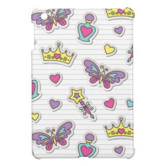 ballet princess pattern iPad mini cover