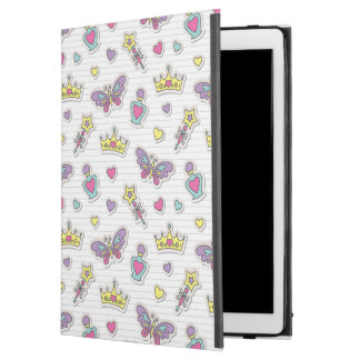 "ballet princess pattern iPad pro 12.9"" case"