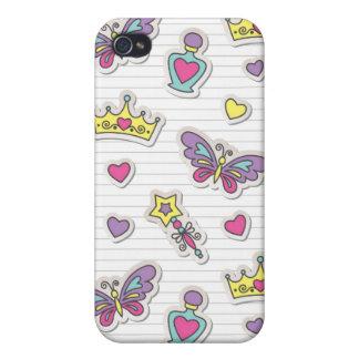 ballet princess pattern iPhone 4/4S case