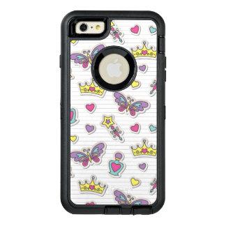 ballet princess pattern OtterBox defender iPhone case