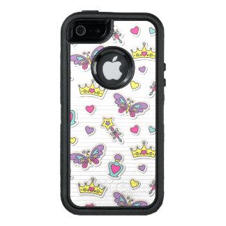 ballet princess pattern OtterBox iPhone 5/5s/SE case