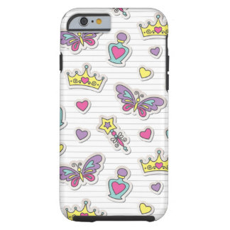 ballet princess pattern tough iPhone 6 case