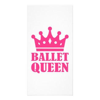 Ballet Queen crown Photo Card Template