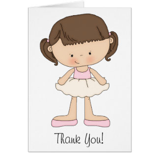 Ballet recital cards and thank you cards