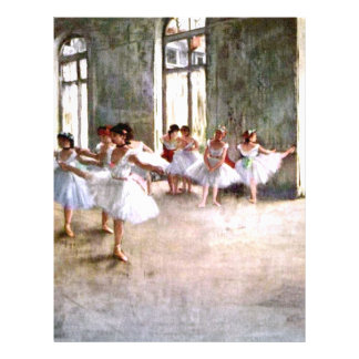 Ballet Rehearsal 21.5 Cm X 28 Cm Flyer
