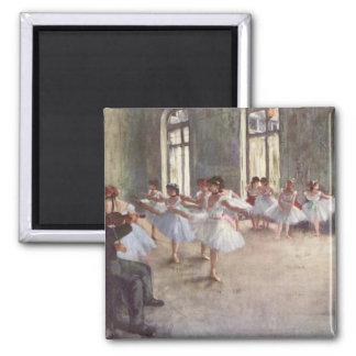 Ballet Rehearsal by Degas Fridge Magnet