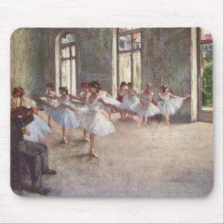 Ballet Rehearsal by Degas Mouse Mat