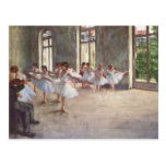 Ballet Rehearsal by Degas Post Card
