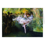 Ballet Rehearsal in New York City Greeting Card