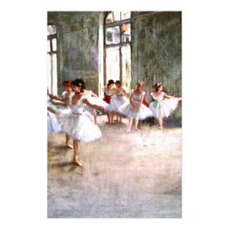 Ballet Rehearsal Stationery