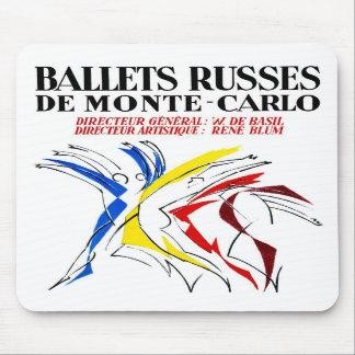 Ballet Russes Dance Mouse Pads
