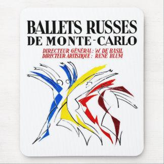 Ballet Russes Dance Mouse Pad