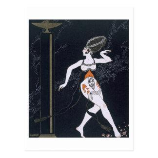 Ballet scene with Tamara Karsavina (1885-1978) 191 Postcard