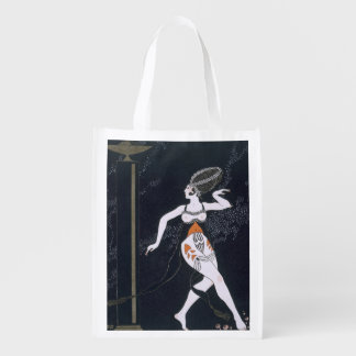 Ballet scene with Tamara Karsavina (1885-1978) 191 Reusable Grocery Bag