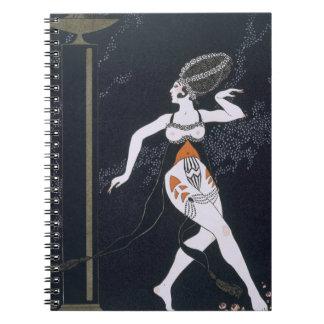 Ballet scene with Tamara Karsavina (1885-1978) 191 Spiral Notebook