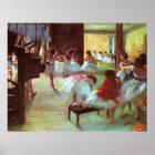 Ballet School ~ Edgar Degas Poster