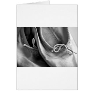 Ballet Shoes Card