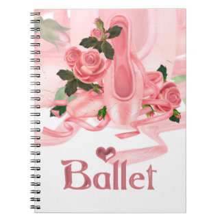 BALLET SHOES DANCE Photo Notebook 5
