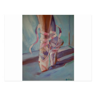 Ballet Shoes Postcard