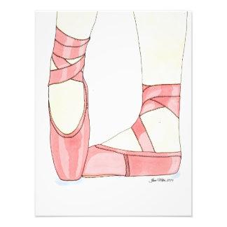Ballet Shoes Print Photographic Print