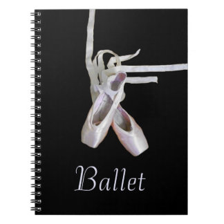 'Ballet' Spiral Notebook/Journal Notebook