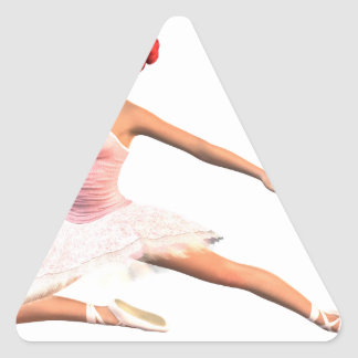 Ballet Stage Bow Triangle Sticker