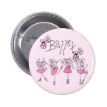 Ballet T-shirts and Gifts Buttons