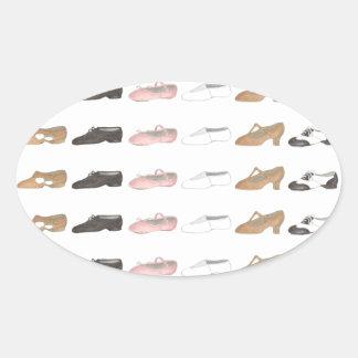 Ballet Tap Jazz Lyrical Acro Dance Shoes Sticker