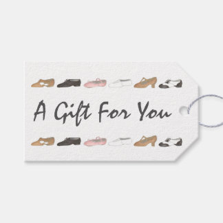 Ballet Tap Jazz Shoes Gift Dance Teacher Gift Tag