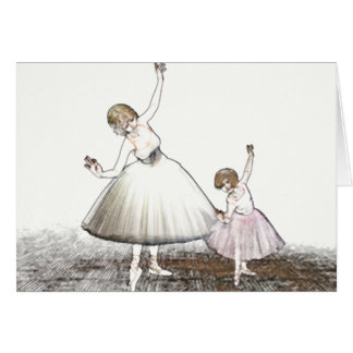 Ballet Teacher Card