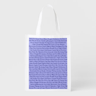 Ballet Terminology Reusable Grocery Bag