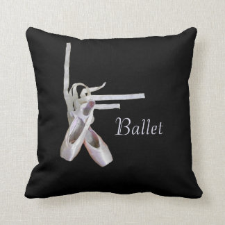 'Ballet' Throw Pillow