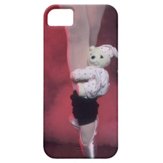 ballet toe shoes with teddy bear iPhone 5 cases