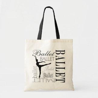 Ballet Tote customizable - Arabesque Canvas Bag