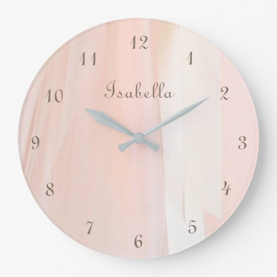 Ballet Tutu Personalised Wall Clock