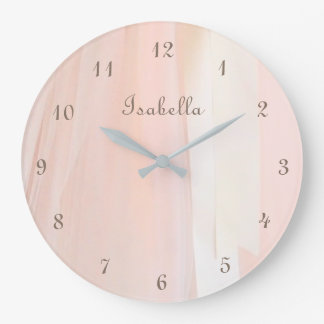 Ballet Tutu Personalized Wall Clock