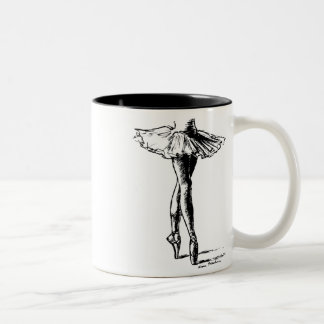 Ballet Two-Tone Coffee Mug