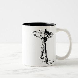 Ballet Two-Tone Mug