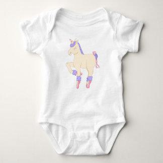 Ballet Unicorn Baby Bodysuit
