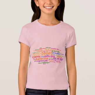 Ballet Wordle T-Shirt