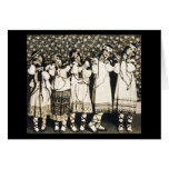 Ballets Russes Rite of Spring Note Card