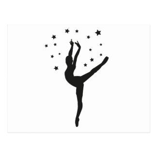 Ballett Postcard