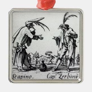 Balli de Sfessania, c.1622 2 Christmas Ornament