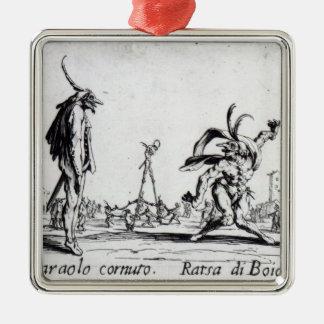 Balli de Sfessania c 1622 Christmas Ornament